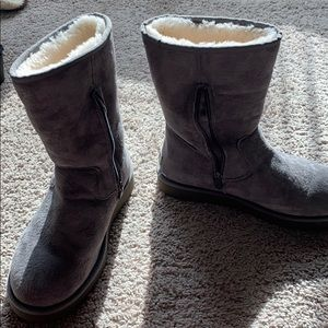 Ugg grey boots classic tall